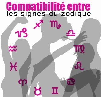compatibilité des signes du zodiac